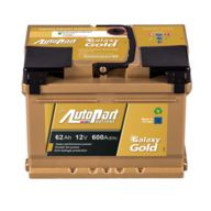 Autopart Plus GALAXY 62Ah 600A (R+) GD620